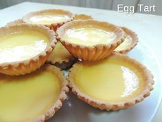 Egg Tart is my favourite desserts for tea-time. This is recipe for crisp cookie-like texture egg tart. I hope you like this yummy egg tart. Asian Desserts, Mini Desserts, No Bake Desserts, Delicious Desserts, Dessert Recipes, Baking Desserts, Filipino Egg Tart Recipe, Filipino Food, Tart Recipes
