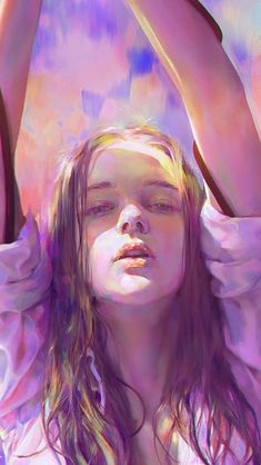 Artist Jun (Yanjun Cheng 君 ) - Art And Beauty Digital Portrait, Portrait Art, Character Illustration, Illustration Art, Character Inspiration, Character Art, Living At Home, Art Inspo, Art Girl