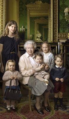 Royal Family Around the World: Remarkable new photographs of Queen Elizabeth II have been released today to mark the monarch's 90th birthday tomorrow (21 April) - April 20, 2016