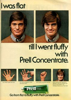 Do you remember bright green Prell shampoo? Retro Ads, Vintage Advertisements, Vintage Ads, Vintage Newspaper, Vintage Stuff, Prell Shampoo, Procter And Gamble, Vintage Classics, Tv Ads