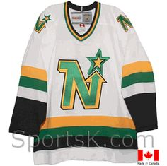 1687ed735 Vintage Minnesota North Stars Jersey (White 1981-1991)