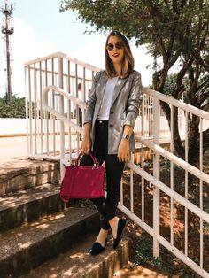 Ideas for moda femenina 2019 tendencias invierno Blazer Outfits, Blazer Fashion, Casual Outfits, Cute Outfits, Fashion Outfits, Formal Winter Outfits, Winter Outfits For Work, Business Outfits, Office Outfits