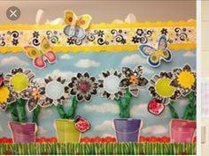 Flowered w/butterflies