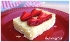 Grandmother's Favorite Cheesecake – (Sernik Babci) A Polish recipe with a curious ingredient! | Lanie Smith | The Vintage Cook