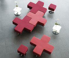 Fun, modular furniture by UK-based furniture designer Jonathan Coleman