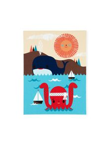 Sea Life Wall Art - The Land of Nod Fall Preview Sale on Gilt