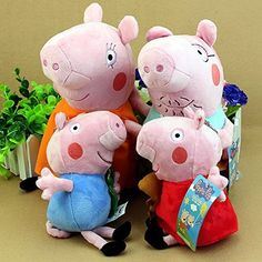 "Peppa Pig Family Plush Toy 4Pcs Set 19-30cm/7.5-12"" Small Size, http://www.amazon.com/dp/B00GYM3DGQ/ref=cm_sw_r_pi_awdm_a7zcxb1S9B9FE"