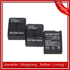 Cheap battery trickle charger car, Buy Quality battery powered vacuum pump directly from China battery samsung cell phone Suppliers:  2015 Hot Sale Brand New 3pcs 1300mAh AHDBT-301 AHDBT-302 Battery for GoPro go pro GoPro Hero3 Hero3+ Camera batteries b