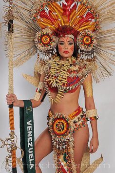 filipino celebrities who have tattoos Costume Carnaval, Carnival Costumes, Showgirl Costume, Samba Costume, Aztec Costume, Folk Costume, Filipino Tattoos, Aztec Warrior, Native American Beauty