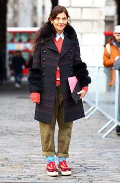 Gloria Baume, Plaid + Dots   Street Fashion   Street Peeper   Global Street Fashion and Street Style