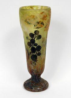 Blackberries vase
