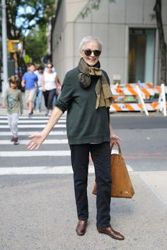 Autumn in New York - Advanced Style