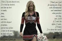The cheerleaders prayer!