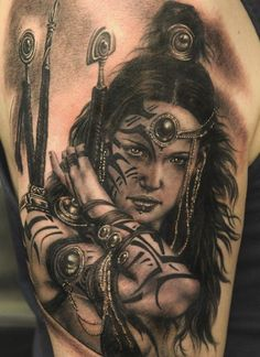 Sensual Luis Royo Tattoos And Paintings For Your Inspiration Great Tattoos, Sexy Tattoos, Beautiful Tattoos, Body Art Tattoos, Beautiful Body, 3d Tattoos, Amazing Tattoos, Skull Tattoos, Stunningly Beautiful