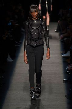 A look from the Alexander Wang fall 2015 collection. Photo: Imaxtree