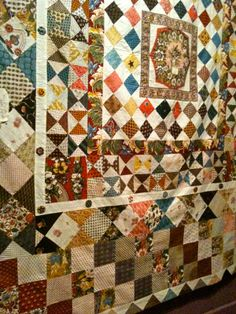 quilts fromthe 1800's | juxtaposed to all the historic quilts are modern quilts although i ...