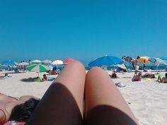 Amo a praia.
