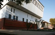 mathews and associates architects School Hall, Public Architecture, Pretoria, Afrikaans, South Africa, Architects, Old Things, Stairs, Spirit