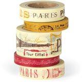 Decorative Paper Tape - Paris