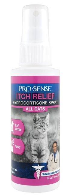 Pro-Sense PS-1804 Cat Hydrocortisone Spray, 4 oz * Be sure to check out this awesome product. (This is an Amazon affiliate link)