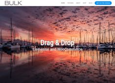 Bulk, Free WordPress Theme by - Templified Wordpress Template, Wordpress Plugins, Ecommerce, Professional Wordpress Themes, Themes Themes, Page Template, Business Website, Just Go, Create