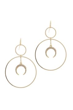 For the lovers of the moon, the Crescent Moon Dangle drop earrings are a perfect final piece for an amazing outfit. Tassel Drop Earrings, Women's Earrings, Trendy Necklaces, Moon Charm, Moon Jewelry, Affordable Jewelry, Star Pendant, Earring Set, Dangles