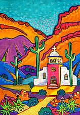 Jenny Willigrod, Original Southwest Art | CHURCHES
