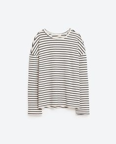 Image 6 of #joinlife LONG SLEEVED STRIPED TOP from Zara                                                                                                                                                                                 More