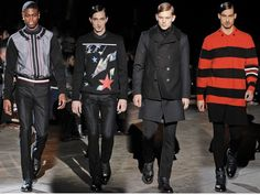 2012 givenchy menswear history - Google Search