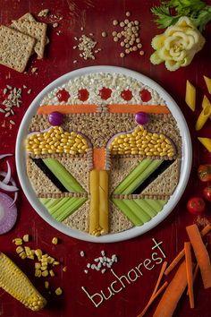 Une artiste audacieuse fait de l'art avec des aliments. Une technique à la fois complexe et appétissante, qui permet à sa créatrice de réaliser des oeuvres minutieuses. SooCurious vous présente une série de ses confections.   Anna Keville ...
