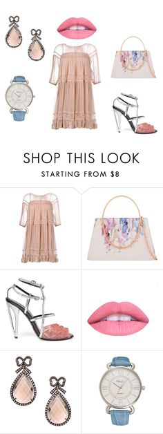 """Small"" by mydesignplace on Polyvore featuring N°21, Ted Baker, Fendi, Haridra and Kim Rogers"