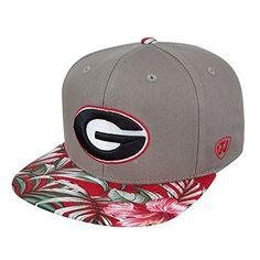 Georgia Bulldogs Flat Brim Hats Flat Brim Hat 01de19d7225