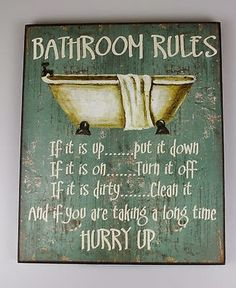 You know the rules...