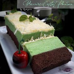 Delicious Cake Recipes, Yummy Cakes, Sweet Recipes, Brownie Recipes, Cookie Recipes, Dessert Recipes, Desserts, Brownies Kukus, Bolu Cake