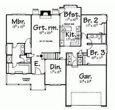 ranch style house plansranch style house plansnarrow lot house plansone open floor house planssimple