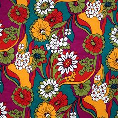 Woodstock Floral Modal Cotton Jersey Knit Fabric