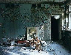 Andrei Tarkovsky's polaroid from the set of Stalker