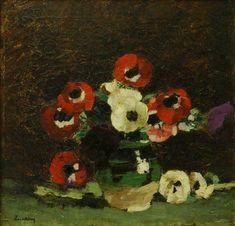 Stefan Luchian Anemones (Flowers) Circa 1908 Art Print for sale online Art Prints For Sale, Wall Art Prints, Fine Art Prints, Anemone Flower, Flower Art, Social Art, Affordable Art, Art Day, Painting Inspiration