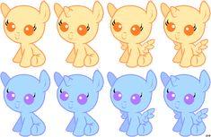 Baby Pony Base by sararini on DeviantArt Baby Pony, My Little Pony Baby, My Little Pony Drawing, Mlp Base, Anime Base, Character Sketches, Character Design, Art Sketches, My Little Pony Characters