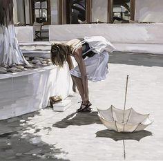 D.W.C. Nature and Woman - Painter Jim Farrant | DANCES WITH COLORS