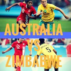 Australia vs Zimbabwe  #olympics #olympics2016 #rio2016 #soccer #football #futebol Olympic Football, Rio 2016, Zimbabwe, Olympics, Soccer, Australia, Football, Futbol, European Football