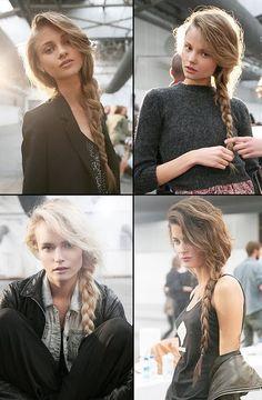 loose braid...classy