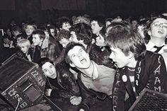 Rock Against Racism crowd, Victoria Park, Hackney, London, April 1978. Photo by Virginia Turbett/Redferns.