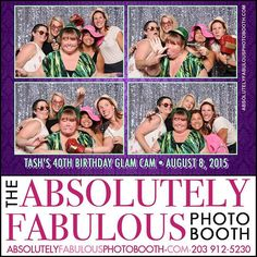 The #absolutelyfabulousphotobooth was at #Tashs #40thBirthday Celebration on August 8th in #Stamford CT  Call (203) 912-5230 for #PhotoBooth availability for your #CorporateEvent #HeadShots Birthday #Sweet16 #Wedding #BarMitzvah #BatMitzvah #Fundraiser and all occasions in #NY #NJ #CT. @gigmasters #Gigpics #PicPicSocial #PicPlayPost #eventplanner #weddingplanner  Like us on Facebook: http://ift.tt/1L5Zk5O
