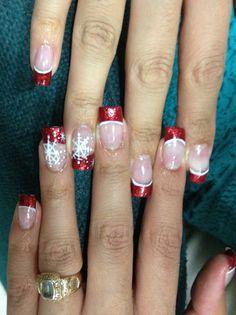 My Christmas nails !