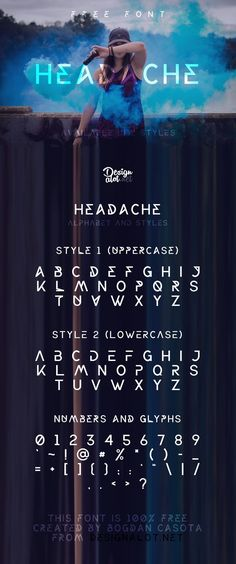 Headache Free Font - Fonts - Ideas of Fonts - Headache Free Font Pinspiry Calligraphy Fonts, Typography Fonts, Letras Cool, Futuristic Fonts, Graphic Design Fonts, Sans Serif Fonts, Handwriting Fonts, Cool Fonts, Graphic Design