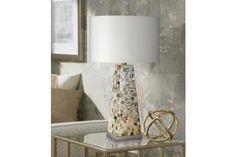 Possini Euro Design Mother of Pearl 29-Inch-H Table Lamp - #EU5X913 - Euro Style Lighting