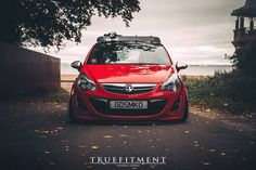 Opel Corsa 5D stance культура