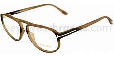 Tom Ford TF 5296 Tom Ford TF5296 046 Matte Olive Glasses | Eyewear Brands