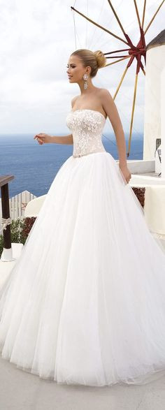 Wedding Dress Inspirations-- very elegant